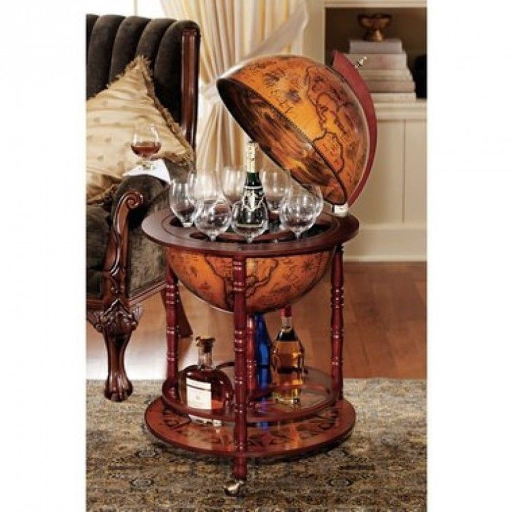 Amazon Sixteenth Century Italian Replica Old World Globe Bar Kitchen Dining