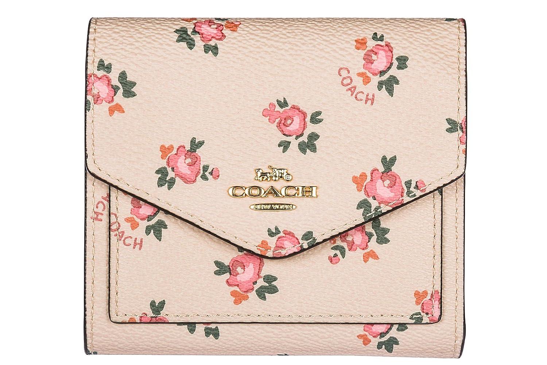 Coach monedero cartera bifold de mujer en piel nuevo Floral beige: Amazon.es: Zapatos y complementos