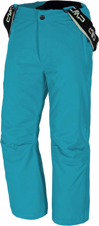 CMP Pantaloni da Sci da Neve Caldi per Ragazze e Ragazzi Tute da Sci Bambini Snowsuit con Pile per Inverno Tjorven