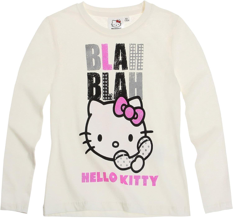 Hello Kitty Camiseta de Manga Larga- 10 Anos: Amazon.es: Ropa y accesorios