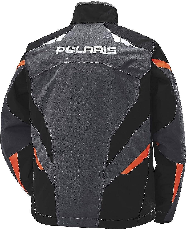 X-Large Polaris Tech54 Northstar Jacket Waterproof Breathable Membrane Snowmobile Coat Orange