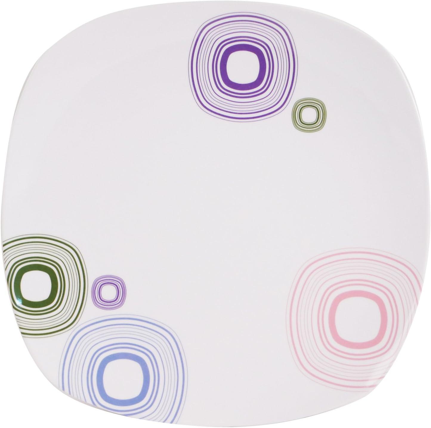 Dotty Tableau vaisselle en m/élamine Profitez de votre repas sur presque unkapputtbarem Harnais