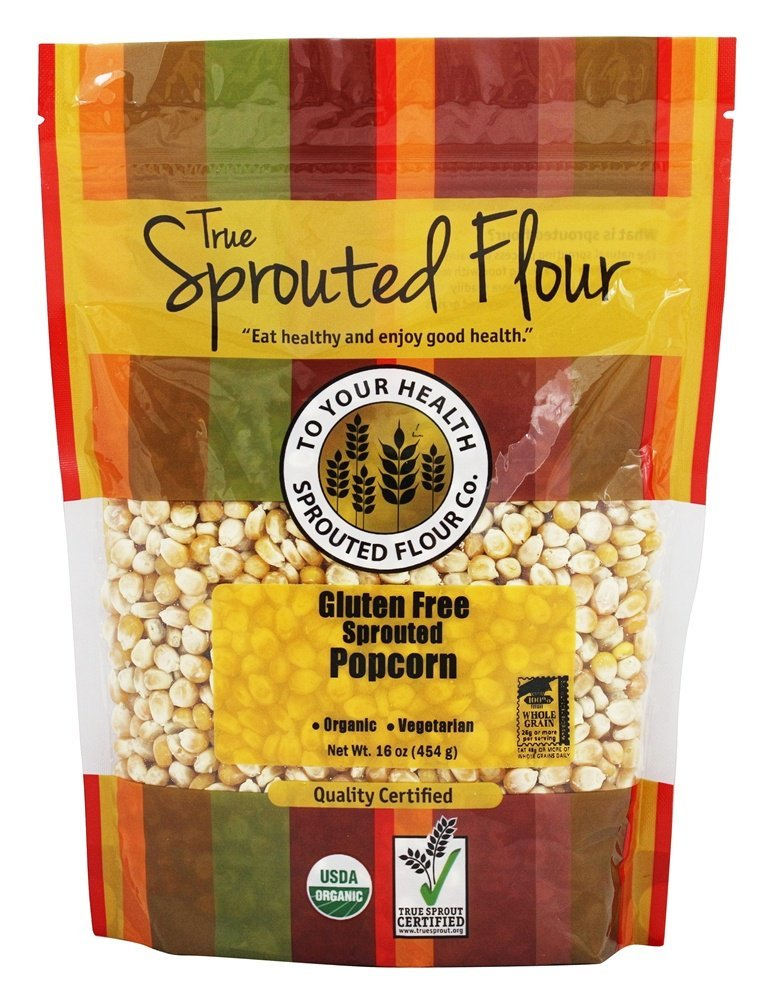 TO YOUR HEALTH SPROUTED FLOUR Organic Sprouted Popcorn, 16 Ounce