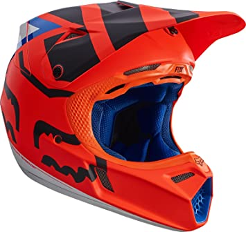 Fox Casco V3 Creo, naranja