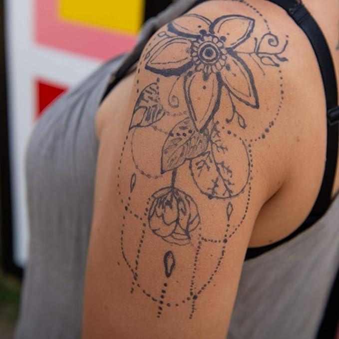 Gel de henna de 10 ml Jagua para tatuajes temporales, solo azul ...