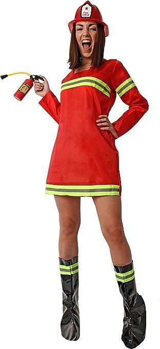 Costumizate! Disfraz de Bombera para Mujer Adulta Especial para ...