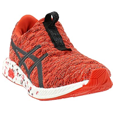 65648b1be775 ASICS Mens HyperGEL-Kenzen Cherry Tomato Black Nylon Running Shoes 8 D(M