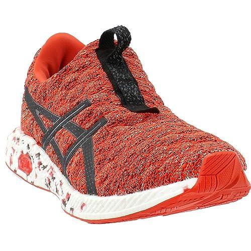 size 40 52f46 670e9 ASICS Men s HyperGEL-Kenzen Nylon Running Shoes Orange Size  ...