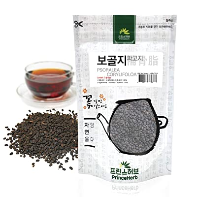 [Medicinal Korean Herb] 100% Natural Psoralea corylifolia/보골지, 파고지 Bulk Herb, 16oz / 1lbs : Garden & Outdoor