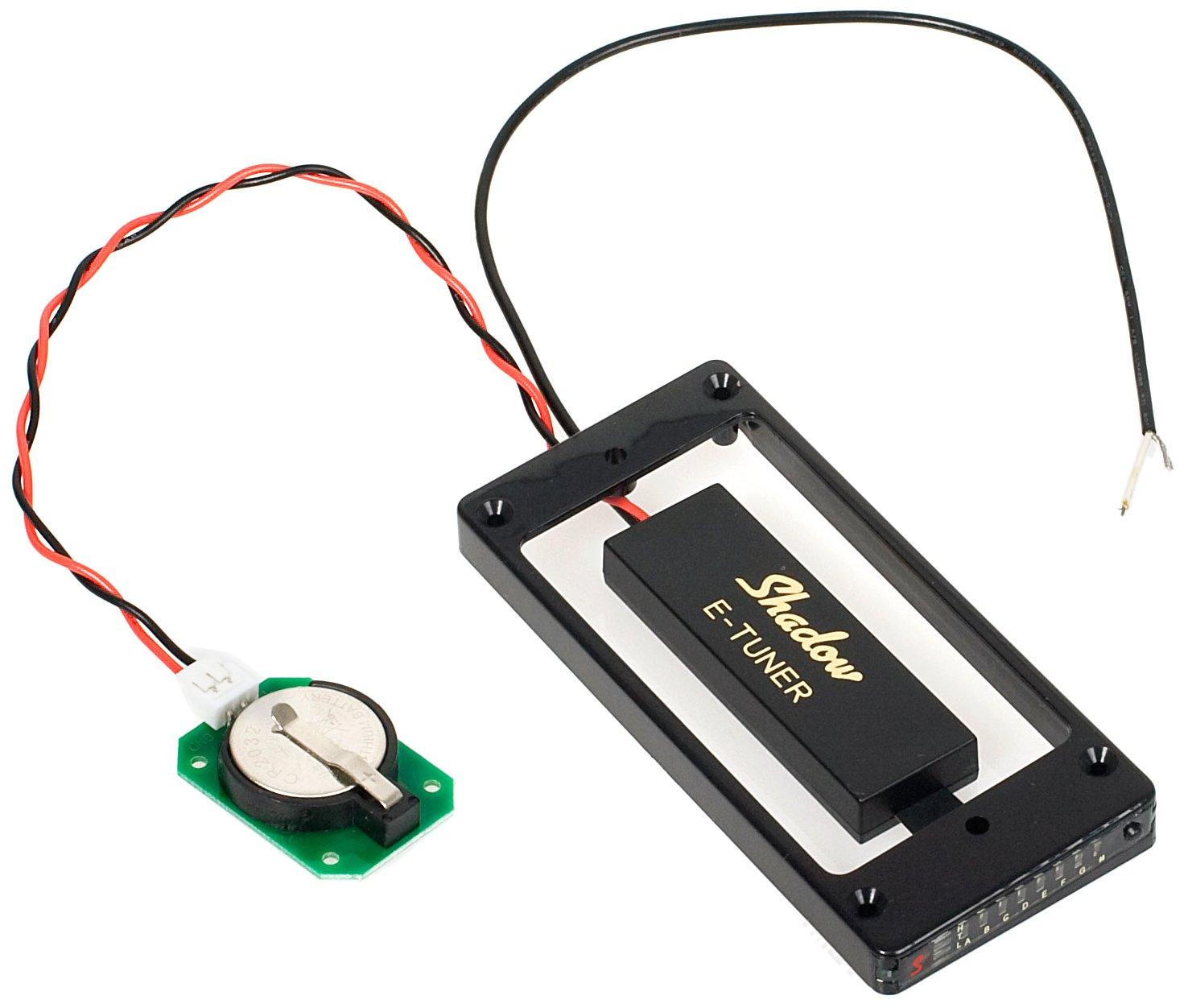 Shadow SH-HBTCT-BK Humbucker Frame Tuner, Black for Curved Top Guitars Shadow Electronics