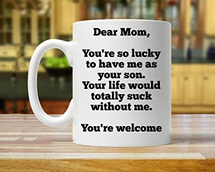 Christmas Gifts For Mom From Son.Amazon Com Funny Gift From Son Gift For Mom From Son Gift