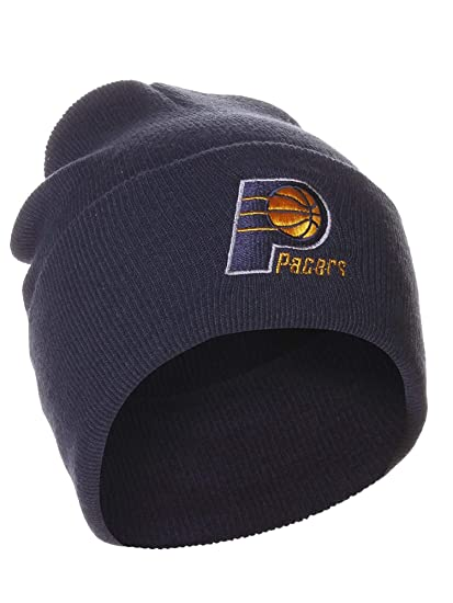 Indiana Pacers Navy Blue Beanie Hat - NBA Cuffed Knit Toque Cap at Amazon  Men s Clothing store  Sports Fan Beanies f61a0fff911