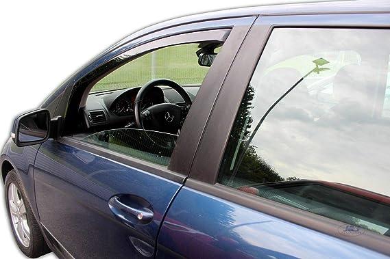 J J Automotive Windabweiser Regenabweiser Für Mercedes A Klasse W169 B Kl W245 2004 2012 2tlg Heko Dunkel Auto