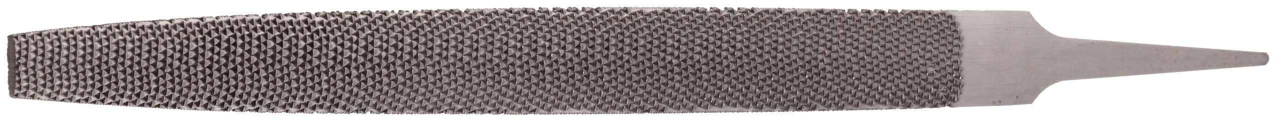 Nicholson Hand File, American Pattern, Rasp Cut, Half-Round, Medium, 10'' Length, Narrow