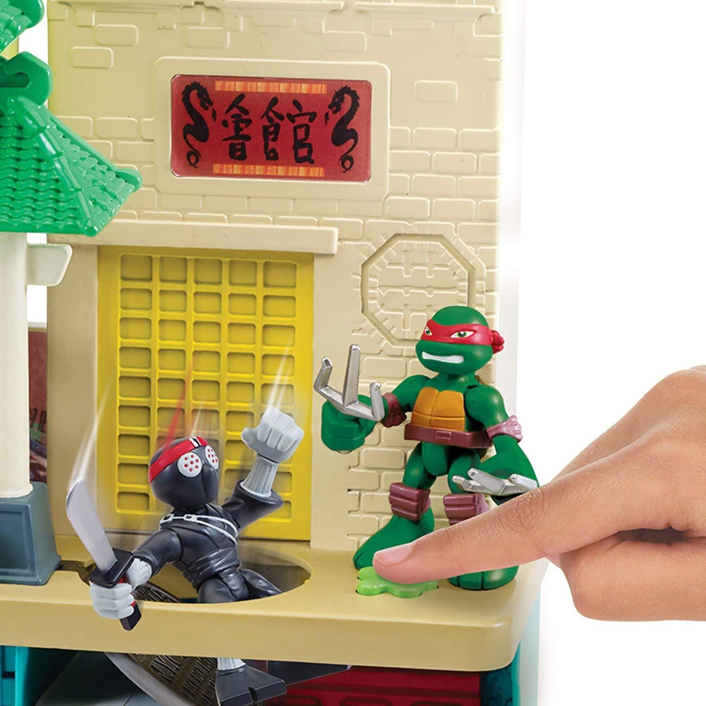 Tortugas Ninja - Playset cuartel (Giochi Preziosi 96901)