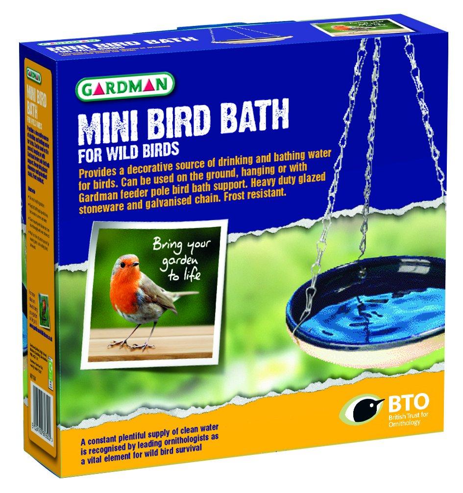 Gardman A01124 Mini Bain pour Oiseaux