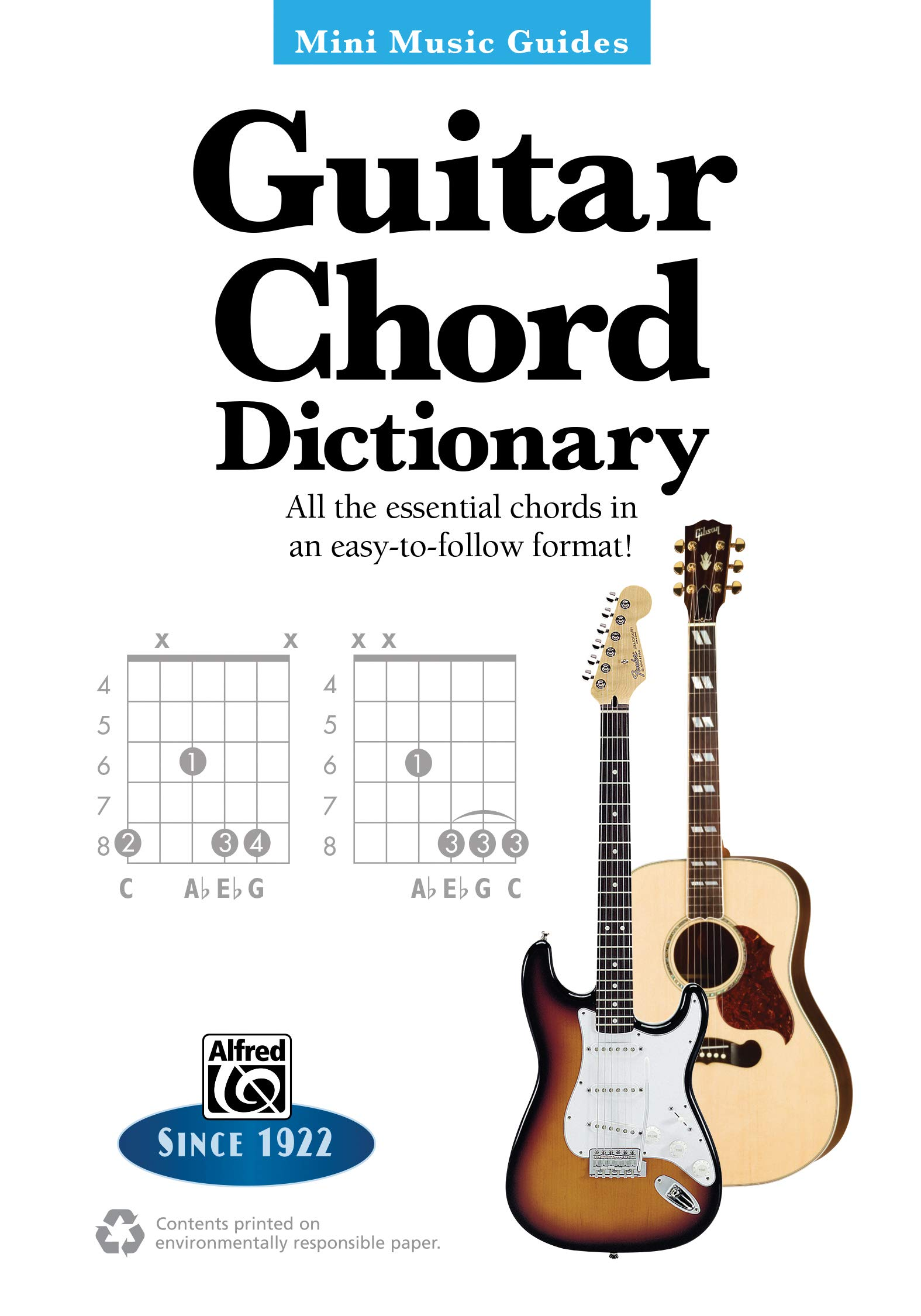 Mini Music Guides    Guitar Chord Dictionary All the Essential ...