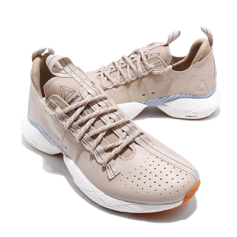 dac11c36b32 Reebok Sole Fury Floatride SE Black Sand Beige Men Running Fashion Shoes  DV4514