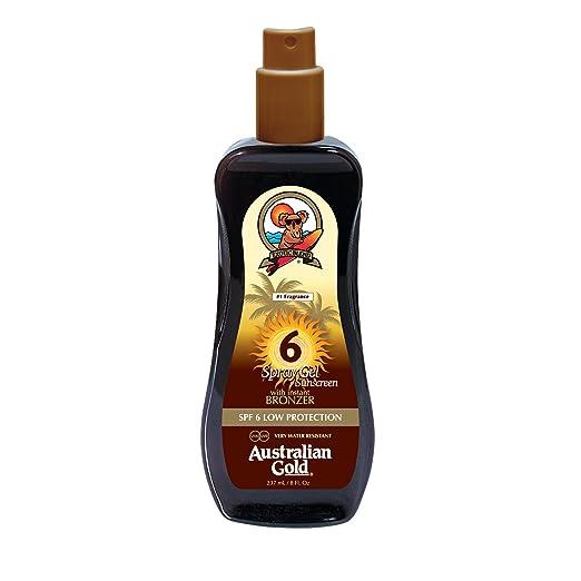 42 opinioni per Australian Gold Spray SPF 6 bassa con protezione concia Agente 237 ml