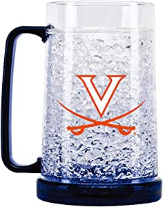 NCAA Virginia Cavaliers 16oz Crystal Freezer Mug