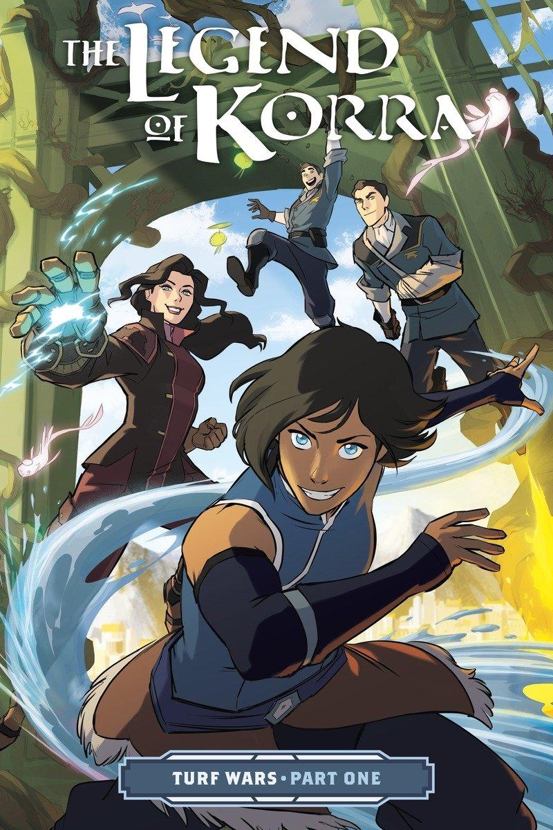 Amazon.com: The Legend of Korra: Turf Wars Part One (9781506700151):  DiMartino, Michael Dante, Koh, Irene: Books