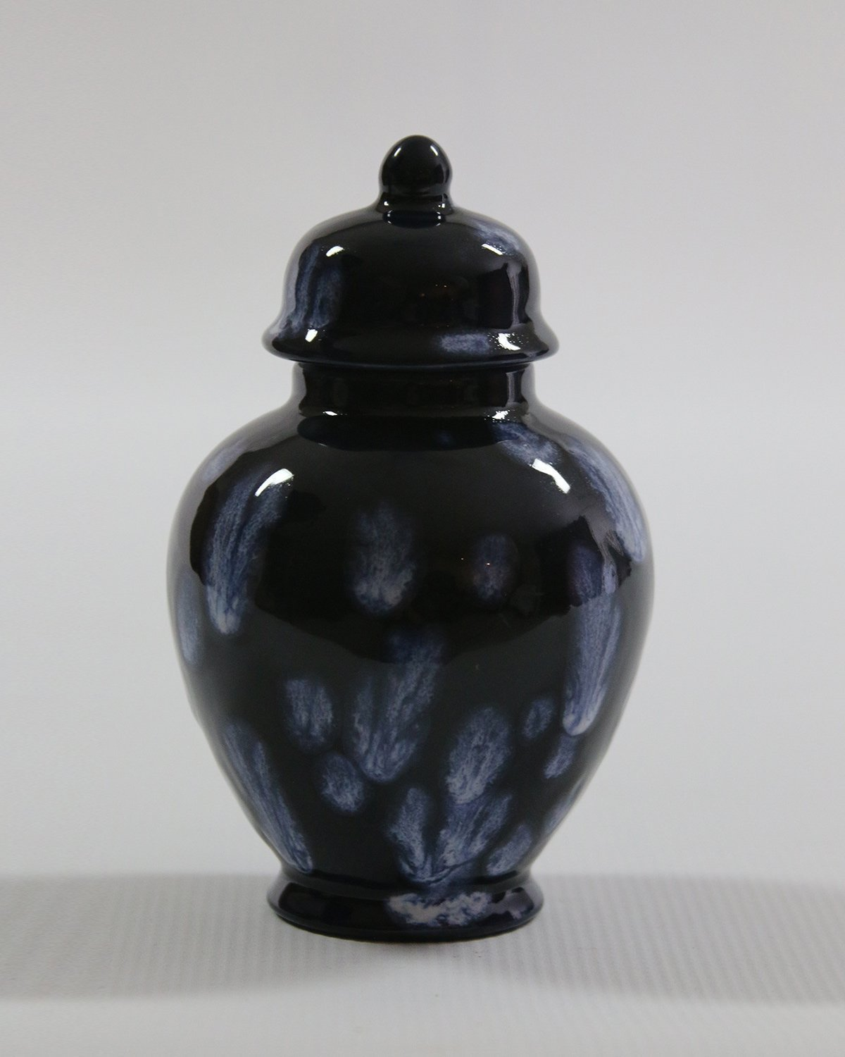 B0787QXGLR Handcrafted Ceramic Urn - Night Sky -21 cu in - Various Colors and Sizes Available, Cremation Urn for Ashes, Pet Urn 713PC2BZklPL._SL1500_