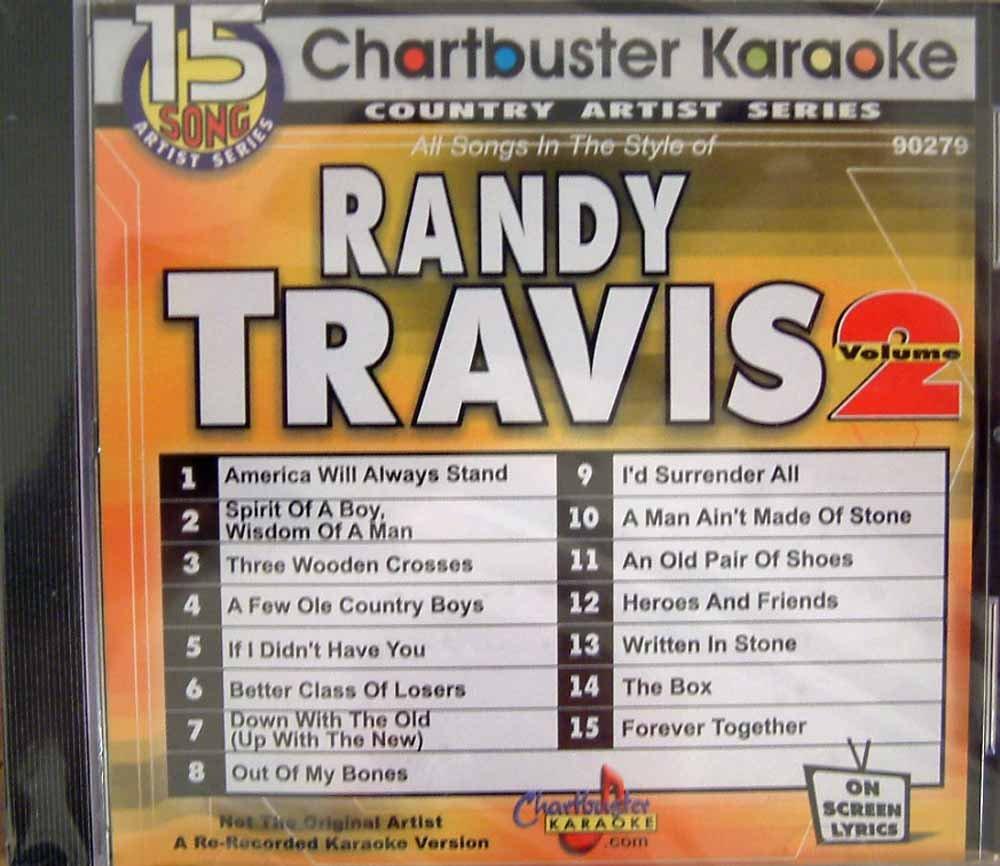 Pro Artist: Randy Travis 2 by Chartbuster Karaoke