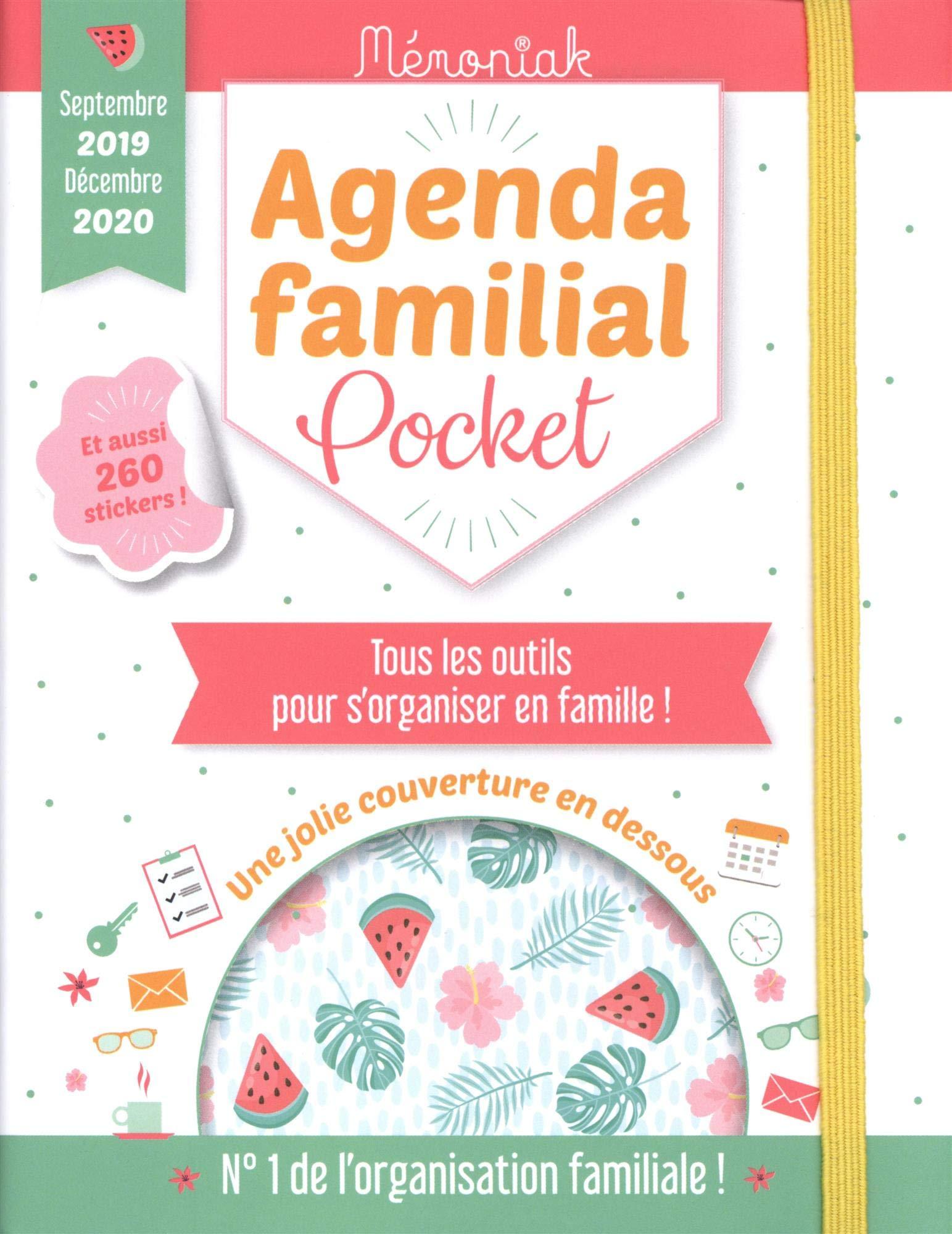 Agenda familial pocket Mémoniak (Le Mémoniak): Amazon.es ...