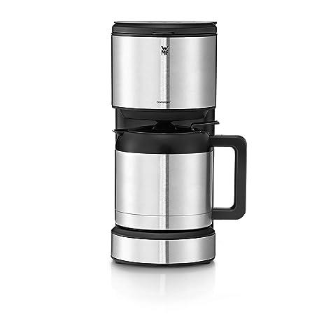 WMF Stelio Aroma Cafetera de 1000 W con jarra térmica de 1 L para 8 tazas e indicador de nivel de agua en el exterior, acabados de acero inoxidable de ...