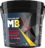 MuscleBlaze High Protein Lean Mass Gainer (Chocolate, 11 lb/5 Kg)