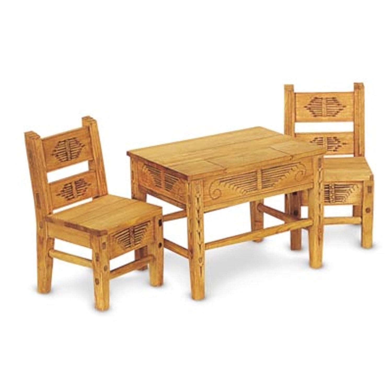 American Girl Josefina's Table  Chairs by American Girl