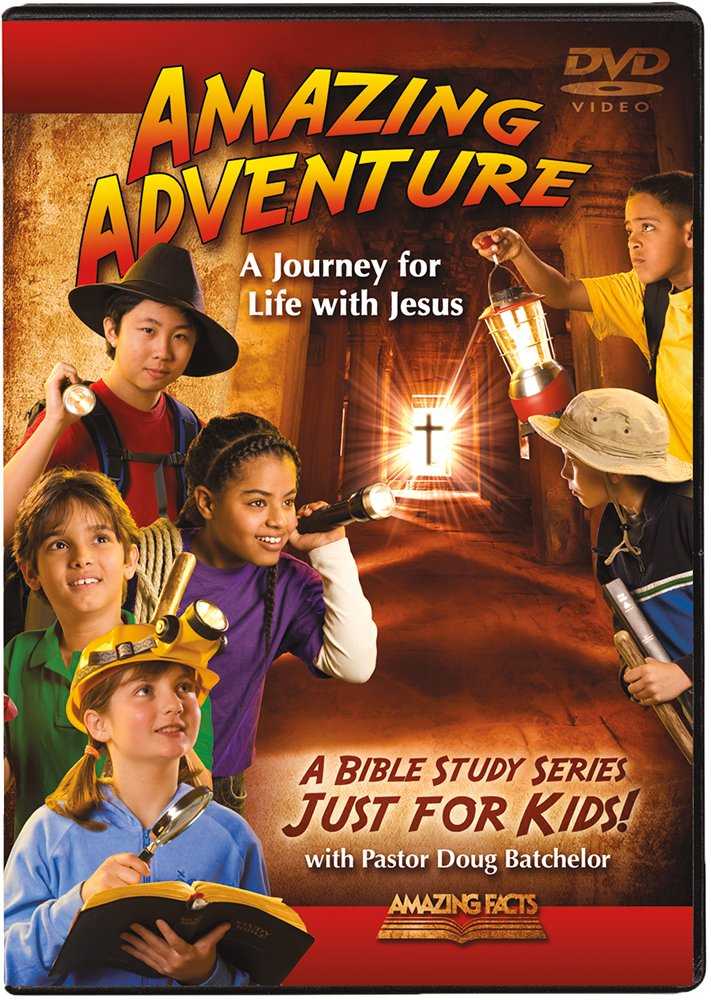 Amazing Adventure DVDs (For Kids)