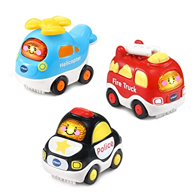 VTech Go! Go! Smart Wheels Starter Pack, Set of 3: Toys & Games