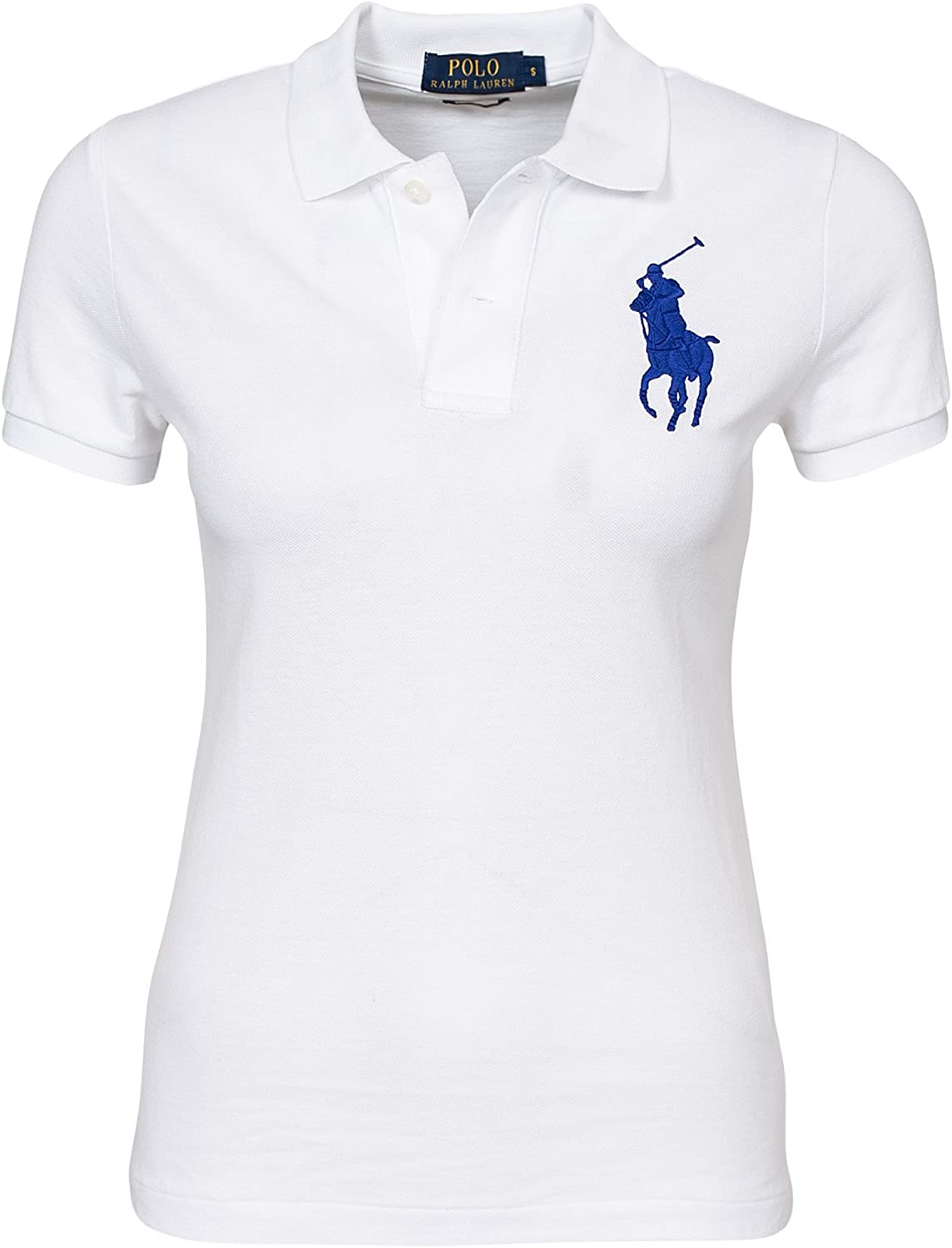 Ralph Lauren Polo WW - Polo SS Knit mujer Blanco Taille X-Small ...