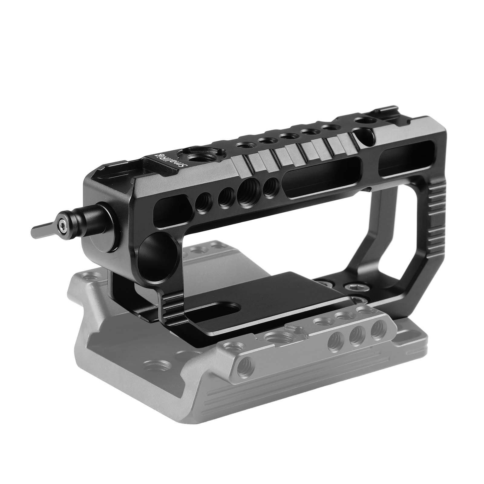 SmallRig Top Handle for Blackmagic URSA Mini/Mini Pro with Rod Clamp and Cold Shoe - 2000