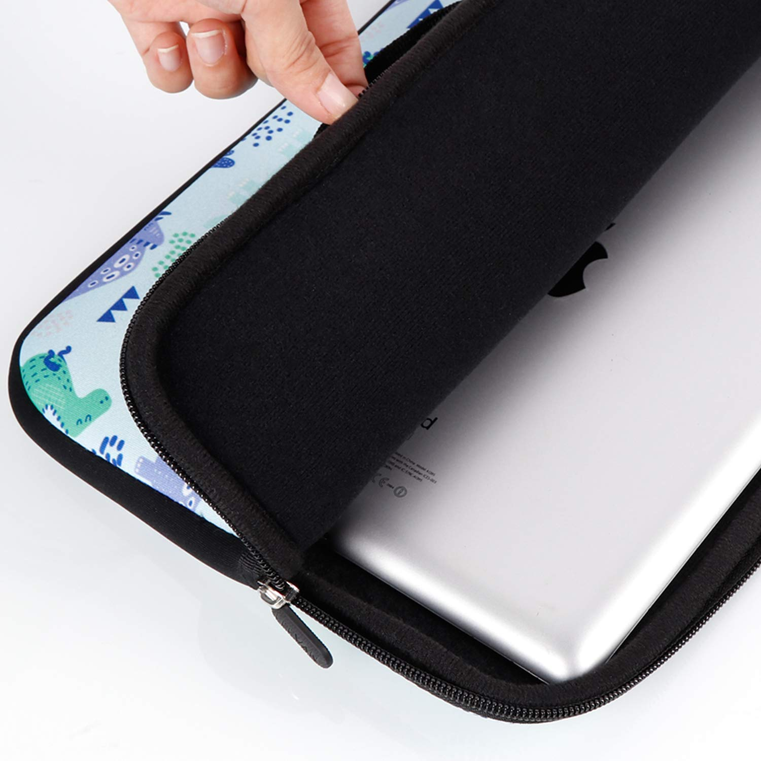 White Marble Retina 13 Inch// iPad Pro iCasso 13-Inch Stylish Soft Neoprene Sleeve Case Cover Bag For Macbook Air Laptop Sleeve Pro