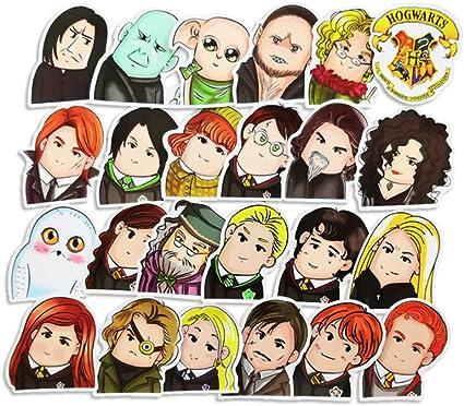 ZHANG 24 Lindos Cráneos De Dibujos Animados Harry Potter Caja del ...