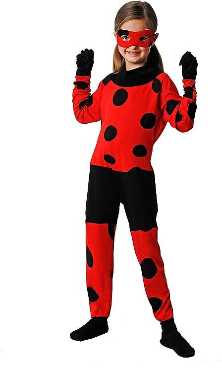 Costumizate! Disfraz de Mariquita Talla 7-9 Especial para niños ...