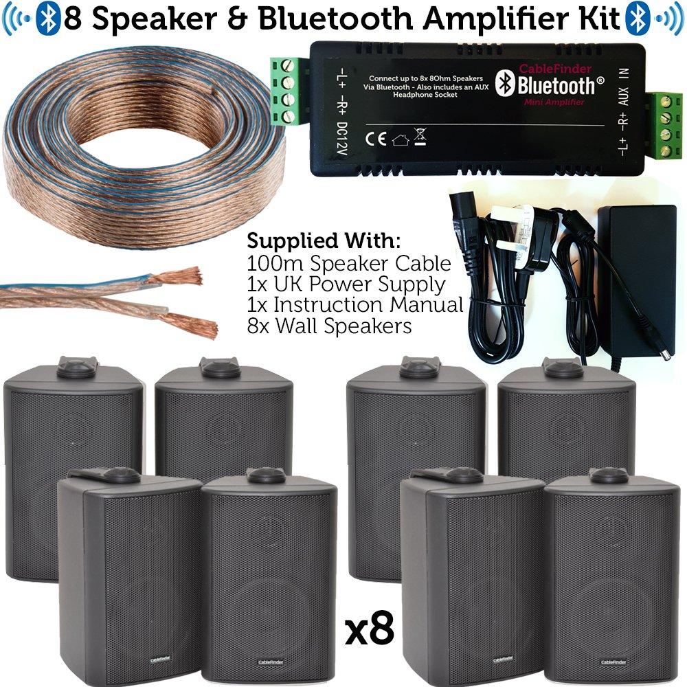 Bar & Restaurant Bluetooth-Lautsprecher-Set – 8 x: Amazon.de: Elektronik