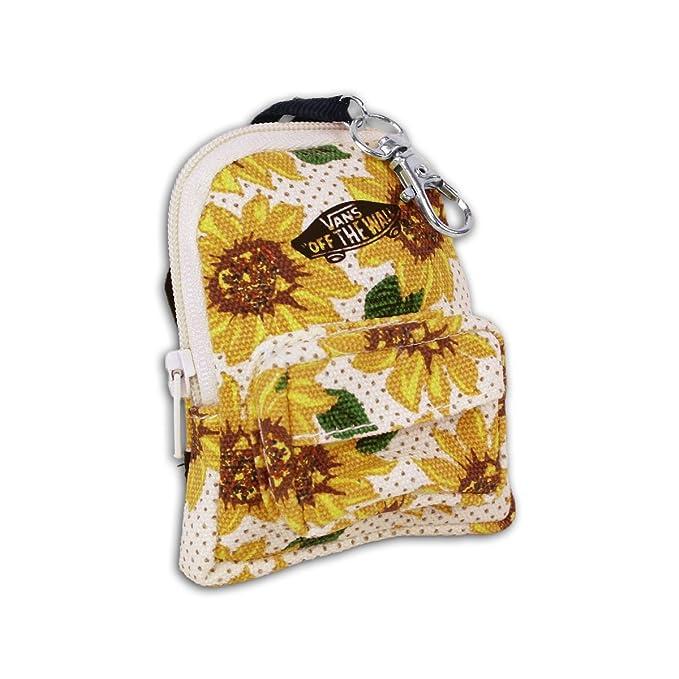 Vans llavero Backpack Keychain Dinero Bolsa Sunflower - 9 cm ...