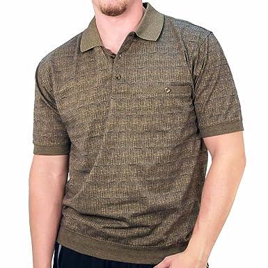62f80b53fbdd Safe Harbor Banded Bottom Men's Shirt (medium) at Amazon Men's ...