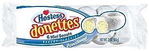 Hostess Brands Host Powder Sugar Mini Donettes, 3.00 oz