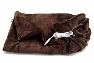 7Buy USB Electric Blankets Heated Shawl Cushion Keep Warm Wrap for Winter Home Office Car and More (Coffee)