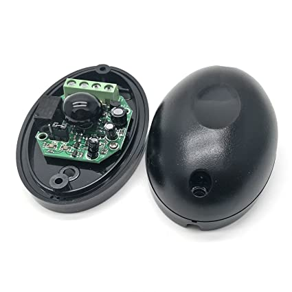 Yootop Pair Single Infrared Beam Sensor Waterproof Photoelectric Barrier  Detector Active IR Sensor for Gate Door Window Home Security System