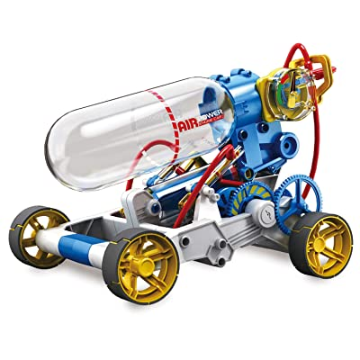 """Elenco Teach Tech """"Air Screamer"""", Compressed Air Powered Racing Vehicle, STEM Building Sets for Kids 10+: Toys & Games"""