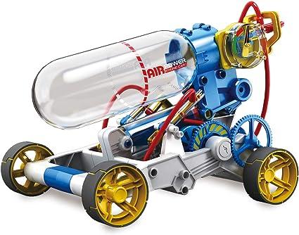 Amazon Com Elenco Teach Tech Air Screamer Compressed Air Powered Racing Vehicle Stem Building Sets For Kids 10 Toys Games