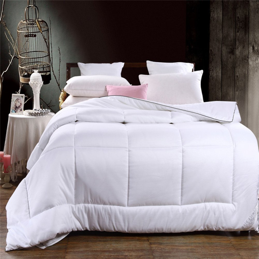 Quilt Five-star hotels are in spring and summer White Double hotel quilts-A 180x220cm(71x87inch)