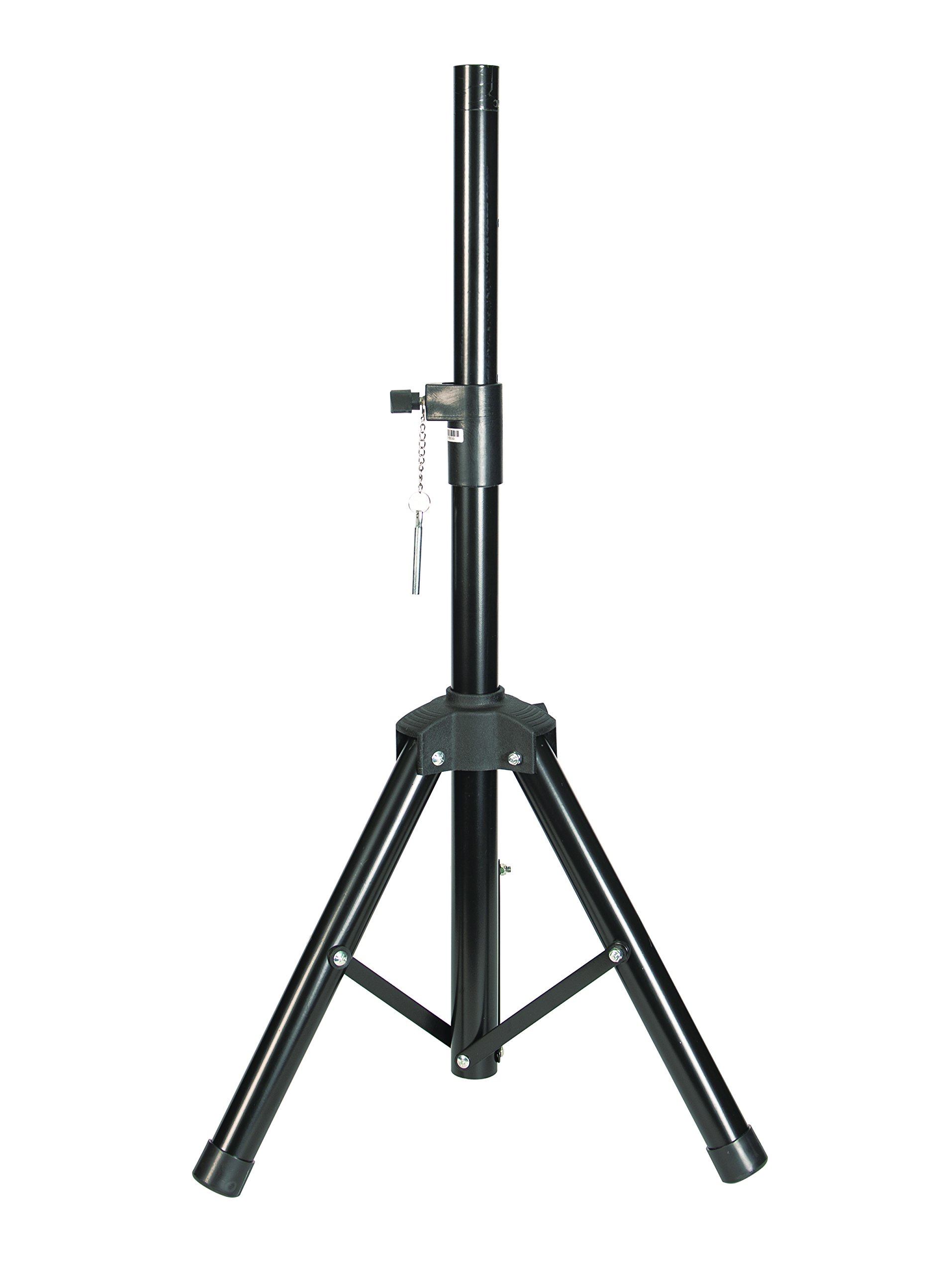 """Precision Speaker Stand with adjustable height from 25.5"""" to 58"""" and 35mm Diameter Universal Tripod w/ Support Plate"""