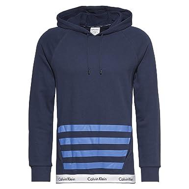 Calvin Klein - Sudadera con Capucha - para Hombre Azul Blue (8sb) S