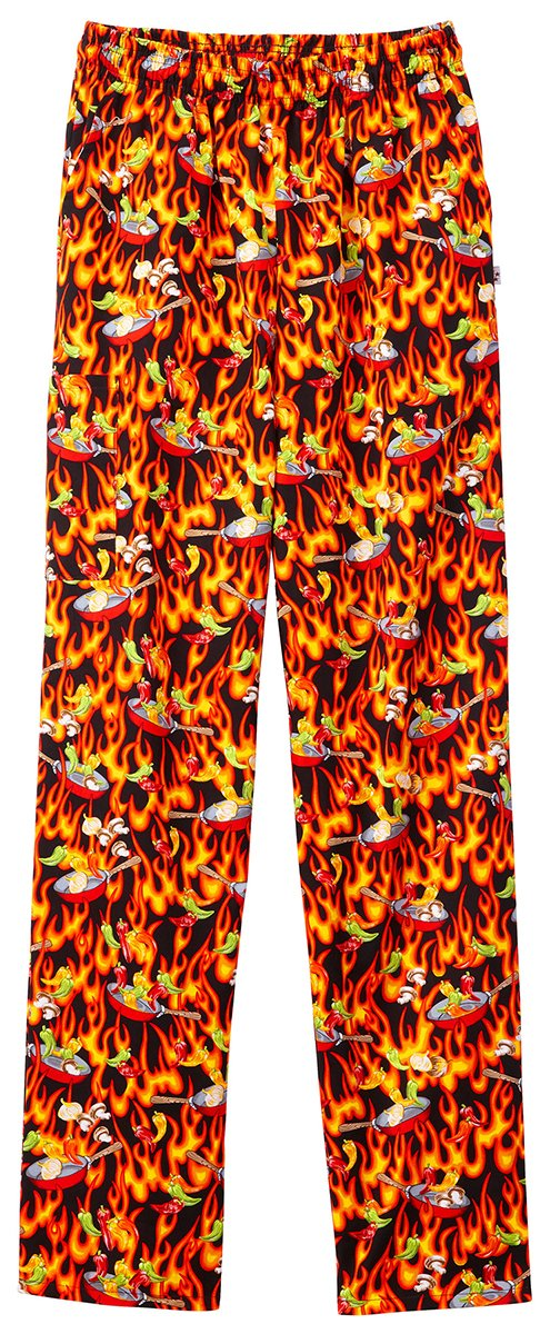 Five Star Unisex Pull-On Baggy Pant_Whats Cooking_L,18100